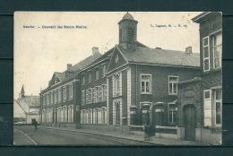 ASSCHE: Couvent Des Soeurs Noires, gelopen postkaart 1907 (GA18038)