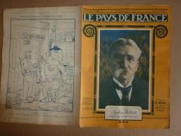1919 LPDF: Aviateur Védrines;Fanions LPDF;Japon;Révolution Berlin;FIUME;Coblence;Général De La Révolution (Championnet) - Revues & Journaux