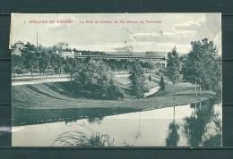 WOLUWE: Le Pont Du Chemin De Fer Avenue De Tervueren, Gelopen Postkaart 1910 (GA18736) - Otros