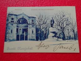 Baden Wuerttemberg Karlsruhe 1907 Prosit Nenjahr Very Nice - Karlsruhe