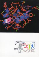 CARTE MAXIMUM 90ème ANNIVERSAIRE DECOUVERTE DE L'INSULINE 1ER JOUR 17 11 2011 - 2010-...
