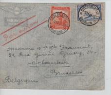Belgisch Congo Belge Lettre Avion Costermansville 1947 V.Schaerbeek PR1183 - Congo Belge