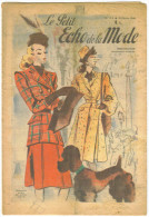 "7revues De Mode Anciennes 1946""Petit Echo De La Mode"" N°3-6,9-10,13-15,24-25,26-27;28-29,39-40 - Livres, BD, Revues"