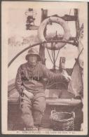62--BERCK PLAGE--Un Loup De Mer--cpsm Pf - Visvangst