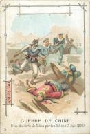 CHROMO  Guerre De Chine  C. BERIOT à Lille    2 Scans - Cromos