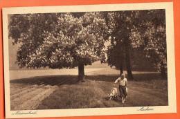 AFY-29 Enfant Et Chèvre, Ziege. Maienabend, Machern, Aus Leipzig Umgebung, Nicht Gelaufen - Museum