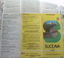 ROMANIA-SUCEAVA CITY PLAN - Cartes