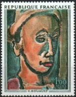 FRANCE Poste 1673 ** MNH Tableau ROUAULT : Songe Creux - Unused Stamps