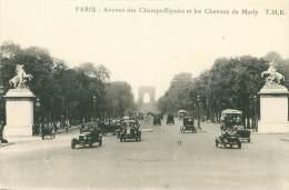75 - PARIS - Avenue Des Champs-Elysées Et Les Chevaux De Marly - Champs-Elysées