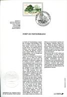 1er Jour Imprimerie Des TP Et De Valeurs Fiduciaires : Forêt De Fontainebleau - 1980-1989