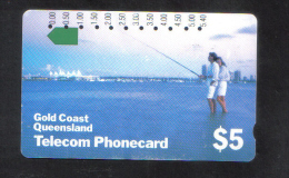 AUSTRALIA - TELECOM PHONECARD $ 5 USED - Australia