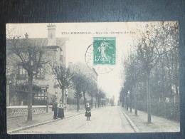 93 - Villemomble -rue Du Chemin De Fer - Collection Moquet - Portelance - Le Raincy - Villemomble