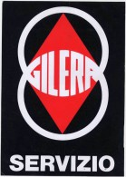 Gilera Moto Vetrofania Anni ´50 Originale Genuine Gilera Motorcycles Shop Window Sticker - Altri