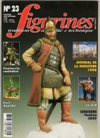 MAQUETTE - Magazine FIGURINES N° 23 Aout-septembre 1998 - Etat Excellent - Revues