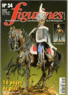MAQUETTE - Magazine FIGURINES N° 24 Octobre-novembre 1998 - Etat Excellent - Francia