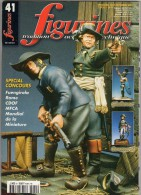 MAQUETTE - Magazine FIGURINES N° 41 Aout-septembre 2001 - Etat Excellent - Revues