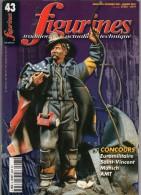 MAQUETTE - Magazine FIGURINES N° 43 Décembre 2001-janvier 2002 - Etat Excellent - Revues