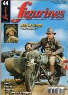 MAQUETTE - Magazine FIGURINES N° 44 Février-mars 2002 - Etat Excellent - Francia