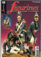 MAQUETTE - Magazine FIGURINES N° 45 Avril-mai 2002 - Etat Excellent - Revues