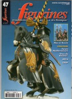 MAQUETTE - Magazine FIGURINES N° 47 Aout-septembre 2002 - Etat Excellent - Revues