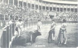 CORRIDA DE TOROS - TAUROMAQUIA TAUROMACHIA BULLFIGHTING  COURSE DE TAUREAUX TAUROMACHIE 7 POSTALES DIFERENTES CIRCA 1910 - Corrida