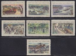 1482. Vietnam, 1969, Means Of Transportation, MNH (**) - Viêt-Nam