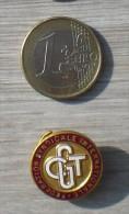 INSIGNE DE BOUTONNIERE CGT - Pin's