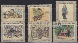 1488. Vietnam, 1969, Homeland And People, Used - Viêt-Nam