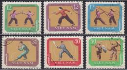 1485(1). Vietnam, 1968, Traditional Sports, Used - Viêt-Nam