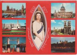 LONDON - Queen Elisabeth , Silver Jubilee 1952 - 1977 - Ohne Zuordnung