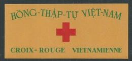 Vietnam Empire  N° C17 XX.Au Profit De La Croix-Rouge : Carnet Complet De 20 Timbres Sans Charnière  TB - Viêt-Nam