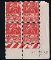 Exposition Coloniale   50 Cent  Yv 272   Du  31.10.30   Charnière Légère - 1930-1939