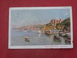Italy > Campania> Napoli (Naples) Sorrento   Has Stamp & Cancel   Ref 1516 - Napoli (Naples)