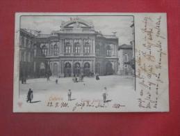 Italy > Sicilia> Catania  Teatro Bellini  Italy stamp & Cancel --     ref 1517