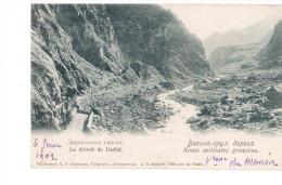 Georgia Route Militaire 1902 OLD POSTCARD 2 Scans - Géorgie