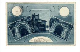 Italie Italia Biella  OROPA Riccordo Galleria Rosazza  31 Lug 1920 + Scanner Verso Piemont  Piemonte - Biella