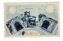 Italie Italia Biella  OROPA Riccordo Galleria Rosazza  28-6-1922 + Scanner Verso Piemont  Piemonte - Biella
