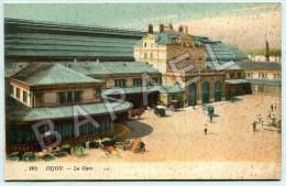 Dijon (21) - La Gare (Circulé En 1918) - Dijon