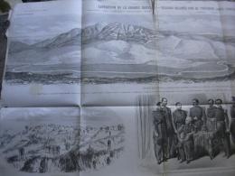 EXPEDITION DE LA GRANDE KABYLIE DESSINS RELEVES PAR THEODORE JUNG EN 1857 - Documents Historiques