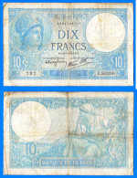 France 10 Francs 1941 Minerve Du 9 1 1939 Paypal Skrill Bitcoin - 1871-1952 Circulated During XXth