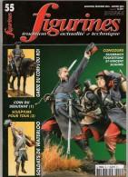 MAQUETTE - Magazine FIGURINES N° 55 Décembre 2003 Janvier 2004 - Etat Excellent - Revues