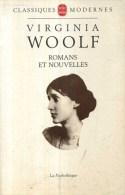 Virginia Woolf  Romans Et Nouvelles  La Pochotheque 1993 - Livres, BD, Revues