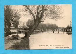 Montpellier. - Pont Du Génie Sur Le Lez. - Montpellier