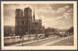 PARIS - Notre-Dame Et La Seine, Vue Prise Du Quai St.-Michel  -- LES PETITS TABLEAUX DE PARIS - Notre Dame De Paris