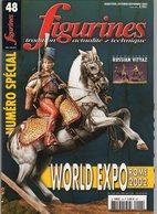 MAQUETTE - LOT 10 Magazines FIGURINES N° 48 - 49 - 52 - 56 - 78 - 79 - 84 - 85 - 89 - 93 - Voir Photos Et Description - France