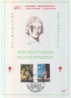 Antituberculose 1970 - Cartes Souvenir
