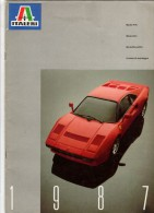 MAQUETTE - CATALOGUE ITALERI 1987 - 52 PAGES - TRES BON ETAT GENERAL MALGRE QUELQUES CROIX AU STYLO - Literature & DVD
