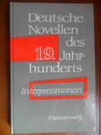Deutsche Novellen Des 19. Jahrhunderts - Livres Scolaires