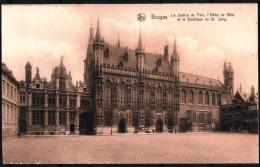 BRUGES - BRUGGE - Justice De Paix, Hôtel De Ville, Basilique Du St-Sang - Non Circulé- Not Circulated - Nicht Gelaufen. - Brugge