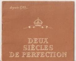 @ PETIT LIVRET PUB CHAMPAGNE MOET ET CHANDON EDITE A L´OCCASION DU BICENTENAIRE  DEPUIS 1743 - Publicités